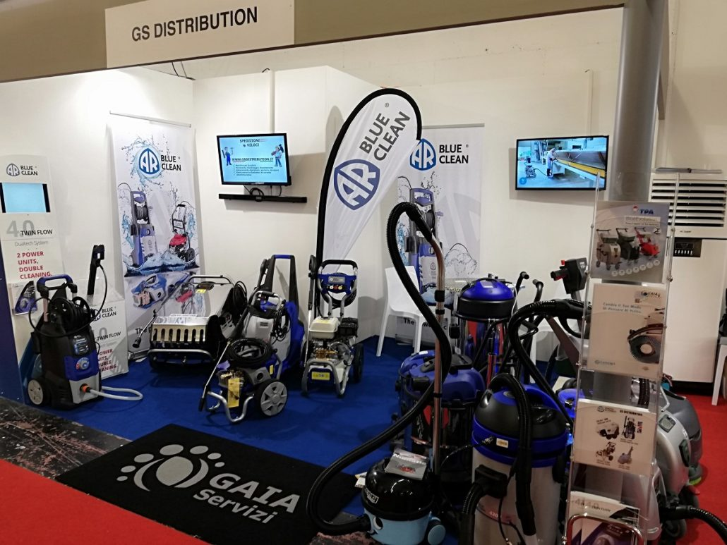 Fiera Expo Hotel Stand Gaia Servizi GS Distribution